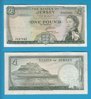 THE STATES OF JERSEY - 1 Pound - 1963