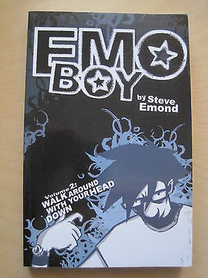 """EMO BOY"" Vol 2 : NEW GRAPHIC NOVEL by STEVE EDMOND. REDUCED SIZE FORMAT. SIG"