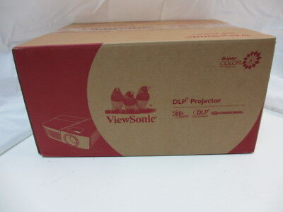 ViewSonic PG703W 1024 x 768 4000 Lumens DLP Projector *Brand New & Sealed*