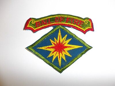 e1463 Korea US Army 40th Infantry Division Ball of Fire R21A1