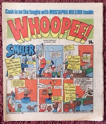 Whoopee Comic 3 April 1982. Vfn Lovely Condition.