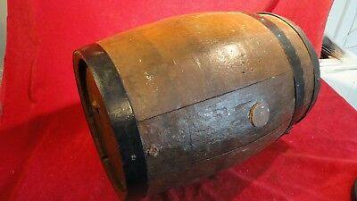 Great Civil War Era Water/spirits Barrel Marked U S 9Th Medical Dept- Iron Bands