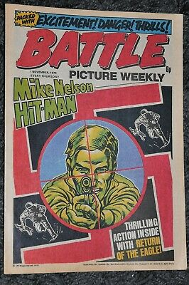 Battle Picture Weekly 1st November 1975