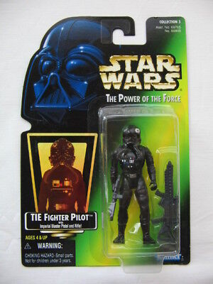 Star Wars POTF-2 - Imperial Tie Fighter Pilot w. Imp. Blaster Pistol and Rifle