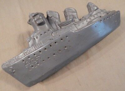 WWII / WW2 U.S. Navy, American Home Front U.S. Navy DESTROYER Coin Bank,