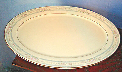 "UNUSED Lenox CHARLESTON PATTERN LARGE 16"" OVAL PLATTER, USA"