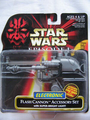 Star Wars Ep.1 - Deluxe Flash Cannon & Accessory Set with Super Bright Light