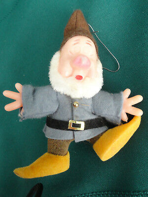 Sneezy Character Christmas Ornament Walt Disney Productions Made in Hong Kong