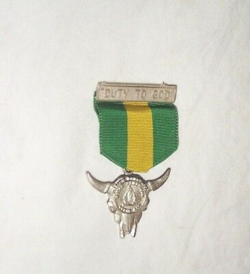 Duty To God Pin Medal BSA LDS Aaronic Priesthood