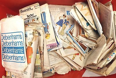 Large Collection of Various Vintage SEWING PATTERNS Packs  - G28