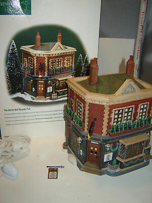 Dept 56 Dickens Village - The Horse and Hounds Pub