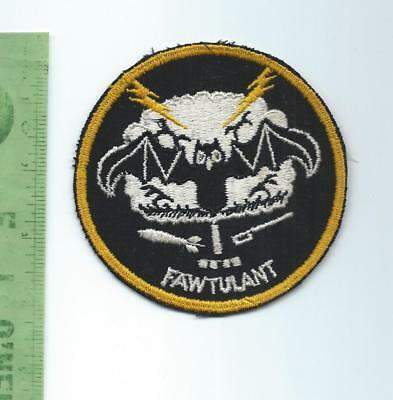 Unidentified  US Air Force USAF   Squadron   patch    FAWTULANT