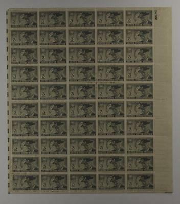 Us Scott 998 Pane Of 50 United Confederate Veterans Stamps 3 Cent Face Mnh