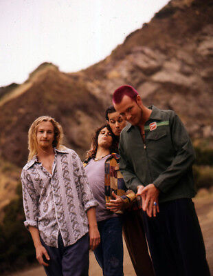 L752D 90s GRUNGE ROCK BAND TRANSPARENCY PHOTO Stone Temple Pilots SCOTT WEILAND