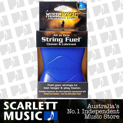 Music Nomad String Fuel String Cleaner / Lubricant & Conditioner ( MN-109 )