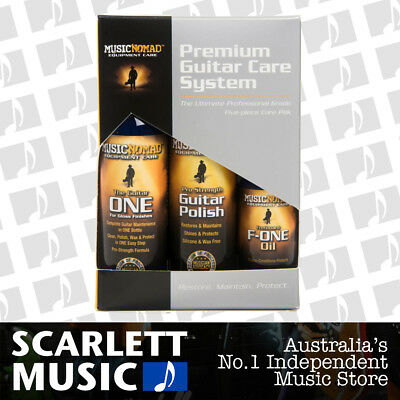 Music Nomad Ultimate Professional Grade 5-Piece Guitar Care Kit ( MN-108 )