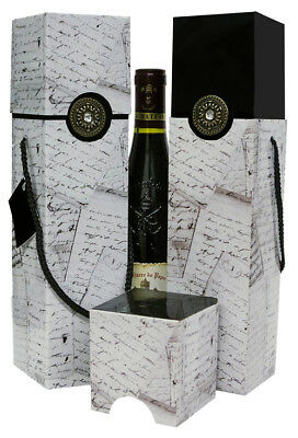 Wine Gift Box - Set of 2 - Gift Idea - Petrus Collection - EndlessArtUS Wine Box