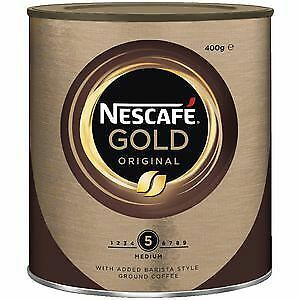 Nescafé INSTANT COFFEE NESCAFE 400G GOLD ORIGINAL ( EACH ) T12358924  Free Ship