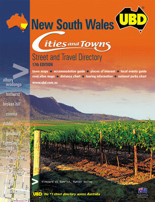 Ubd Street Directory Ubd/gre New South Wales ( Each )