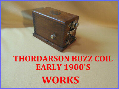 Antique Thordarson Buzz Coil--Refurb-Works Good--Ready For Engine