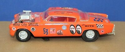 AMT Double Whammy 1953 Studebaker Chopped Drag Coupe Kit 1:25 Beautiful Build