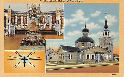 C09-4735, Old Russian Church, St. Michael's Cathedral, Sitka, Alaska.