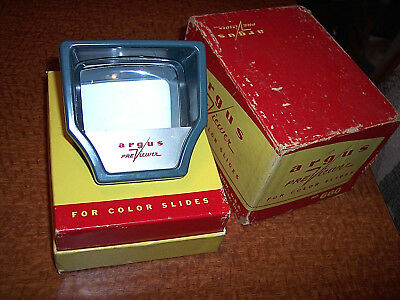 Vintage Argus Pre Viewer No. 660 For Color Slides Michigan USA Made Slide Viewer