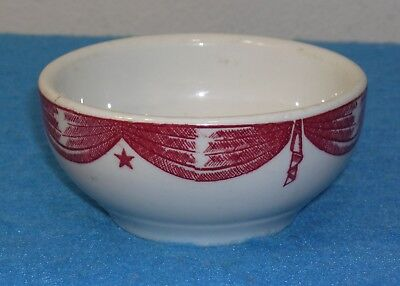 1940 New York World's Fair EXHIBIT BUILDING CAFETERIA BOWL Toffenetti Candy Co