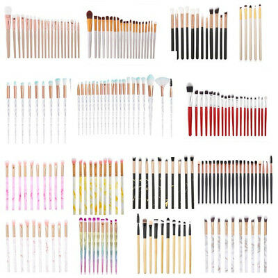 20PCS Make up Brushes Set Foundation Eyeshadow Eyeliner Powder Cosmetic Tool Kit