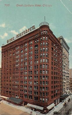 C09-5192, Great Northern Hotel, Chicago, Ill. 1910S Postcard,