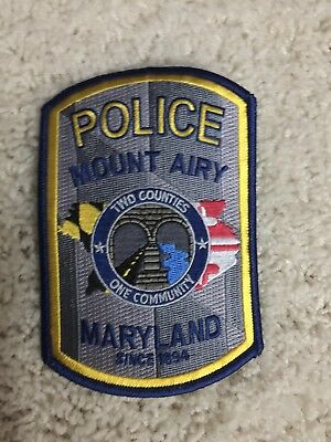 Mount Airy Maryland Police Patch