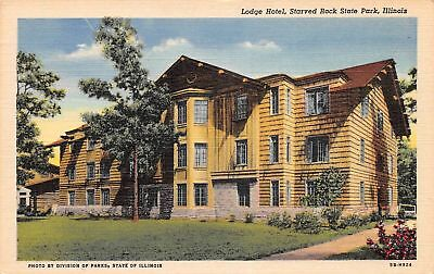 C09-5246, Lodge Hotel, Starved Rock State Park, Ill.