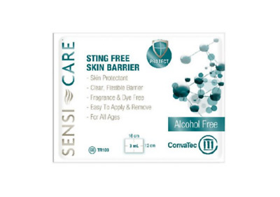 McK Sensi-Care Sting-Free Skin Barrier Unscented Incontinent Care Wipe 1 Each