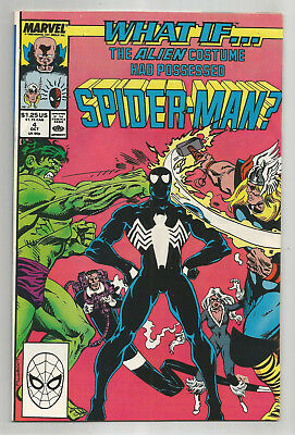 What If # 4 * The Alien Costume Had Possessed Spider-Man? * Nice Copy