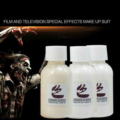 30ml Special Effects Drama Halloween Makeup Fake Wounds Scars Glue Skin Wax