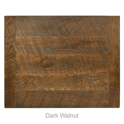 "New 24"" x 30"" Economy Urban Distressed Table Top in Dark Walnut"