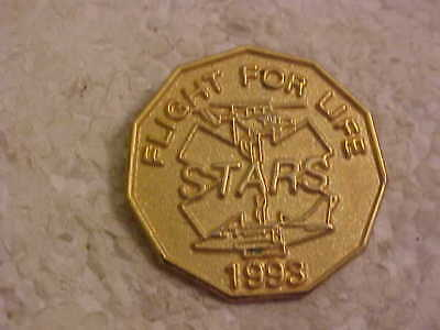 1993 Stars Flight For Life  Lapel Pin Helicopter Picture
