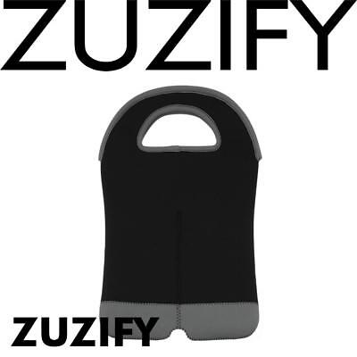 ZUZIFY Neoprene Double Wine Carrier Tote Bag. ZU0976