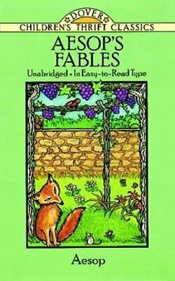 Fables (Dover Children's Thrift Classics) by Aesop Paperback Book The Fast Free