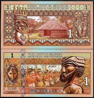 PACIFIC STATES of MMP 1 DOLLARS WARRIORS POLYMER 2018
