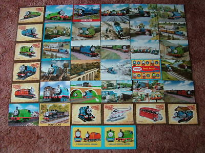 38 Unused Postcards of THOMAS THE TANK ENGINE & FRIENDS. Good condition.