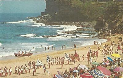 PAN AM Postcard - AUSTRALIA Avalon Beach, Sydney Aerial View Postcard