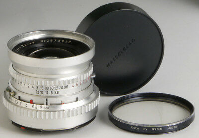 Hasselblad Carl Zeiss 60mm f/5.6 C Distagon _vintage wide angle lens +UV filter