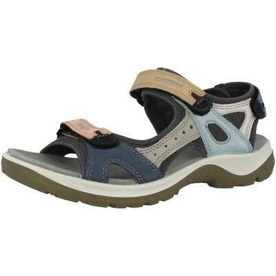 Multicolor Offroad Damen Sandale Ecco Outdoor Schuhe Pastel Ladies PknwXO80