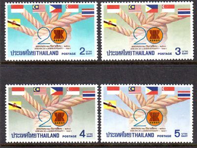 1987 THAILAND 20th ANNIVERSARY ASEAN SG1288-1291 mint unhinged