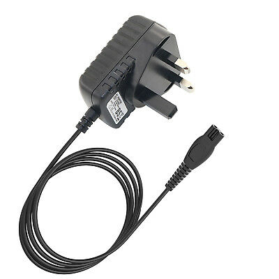 UK Plug Shaver Charger Power Lead Cable For Philips HQ8505 HQ6425 HQ6426 Shavers