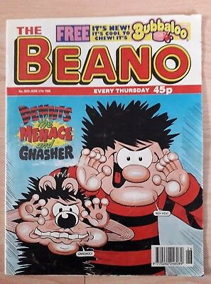 The Beano  comic (No 2919) June 27th 1998