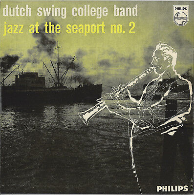 """7"""" Vinyl (EP) Dutch Swing College Band - Jazz at the seaport no. 2"""