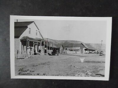 1950s RP Postcard 1800s Lincoln New Mexico Street Scene