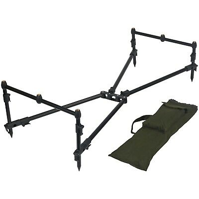 Carp Pro 3 Rod Pod with Buzz Bars and Banksticks & Carry Case